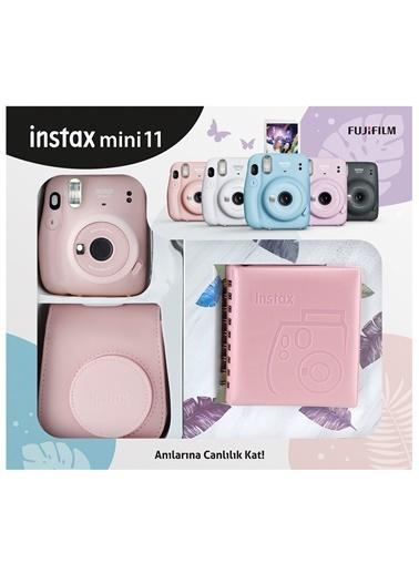 Fujifilm Instax mini 11 Kare Albümlü Pembe Kit Pembe